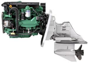 Volvo_Penta_D3-200_Sterndrive_Engine